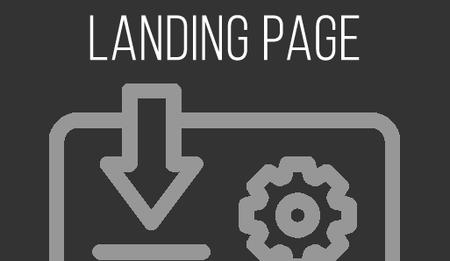 A landing page